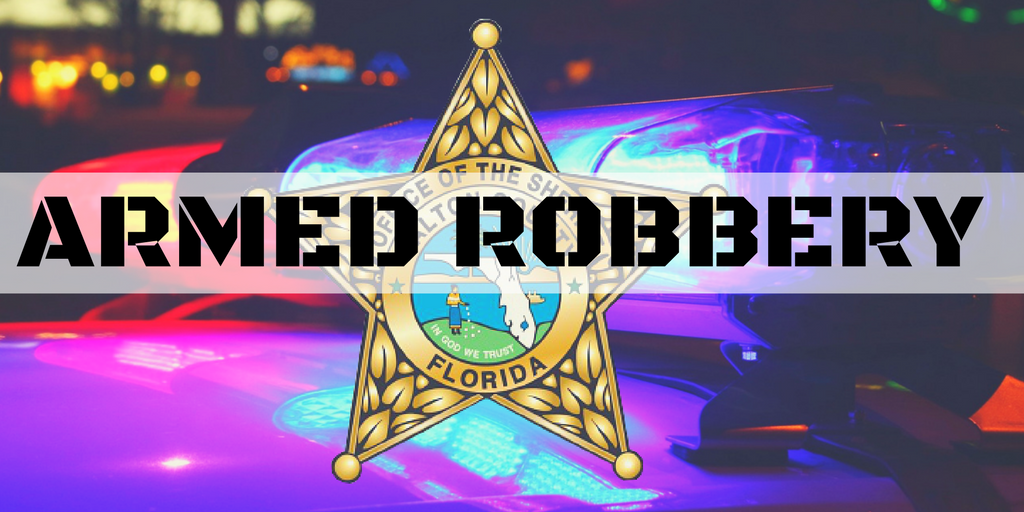 MAN ROBBED AT GUN POINT IN DEFUNIAK SPRINGS;  DEPUTIES BOLOING FOR SUSPECT VEHICLE