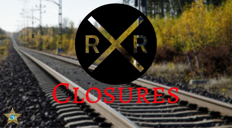 CSX CLOSES RAILROAD CROSSINGS FOR REPAIRS