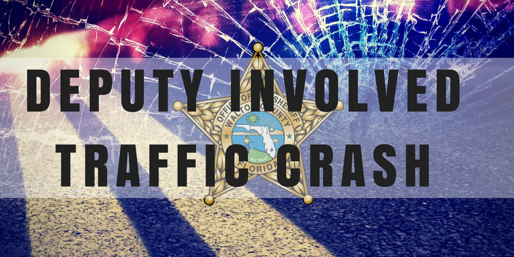 WCSO DEPUTY INVOLVED IN CRASH WITH DEER