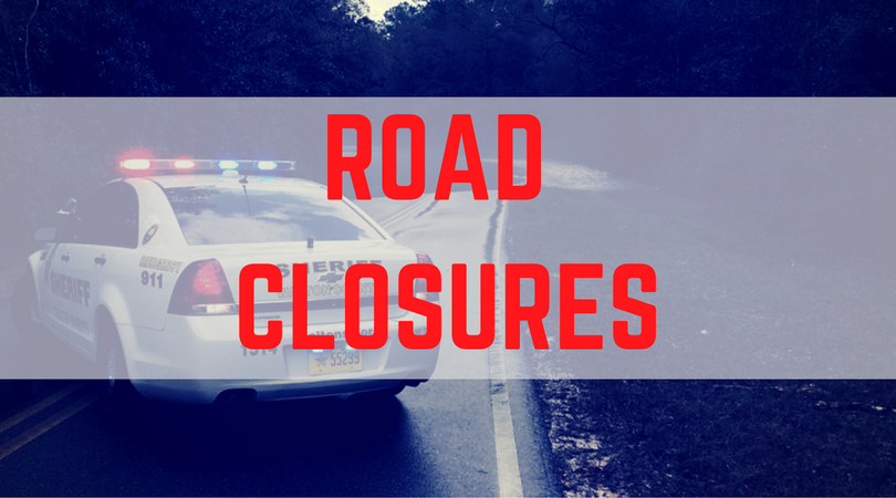 ROAD CLOSURES LIST FOR WALTON COUNTY AS OF 5:00AM 1/7/2017