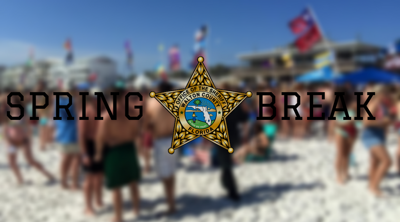 WCSO DRAFTS LETTER TO PARENTS BEFORE START OF HIGH SCHOOL SPRING BREAK