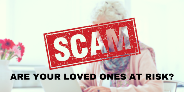 ARREST WARRANT SCAMTARGETS THE ELDERLY