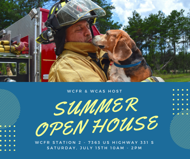 WALTON COUNTY FIRE RESCUE AND WALTON COUNTY ANIMAL SHELTER HOST SUMMER OPEN HOUSE
