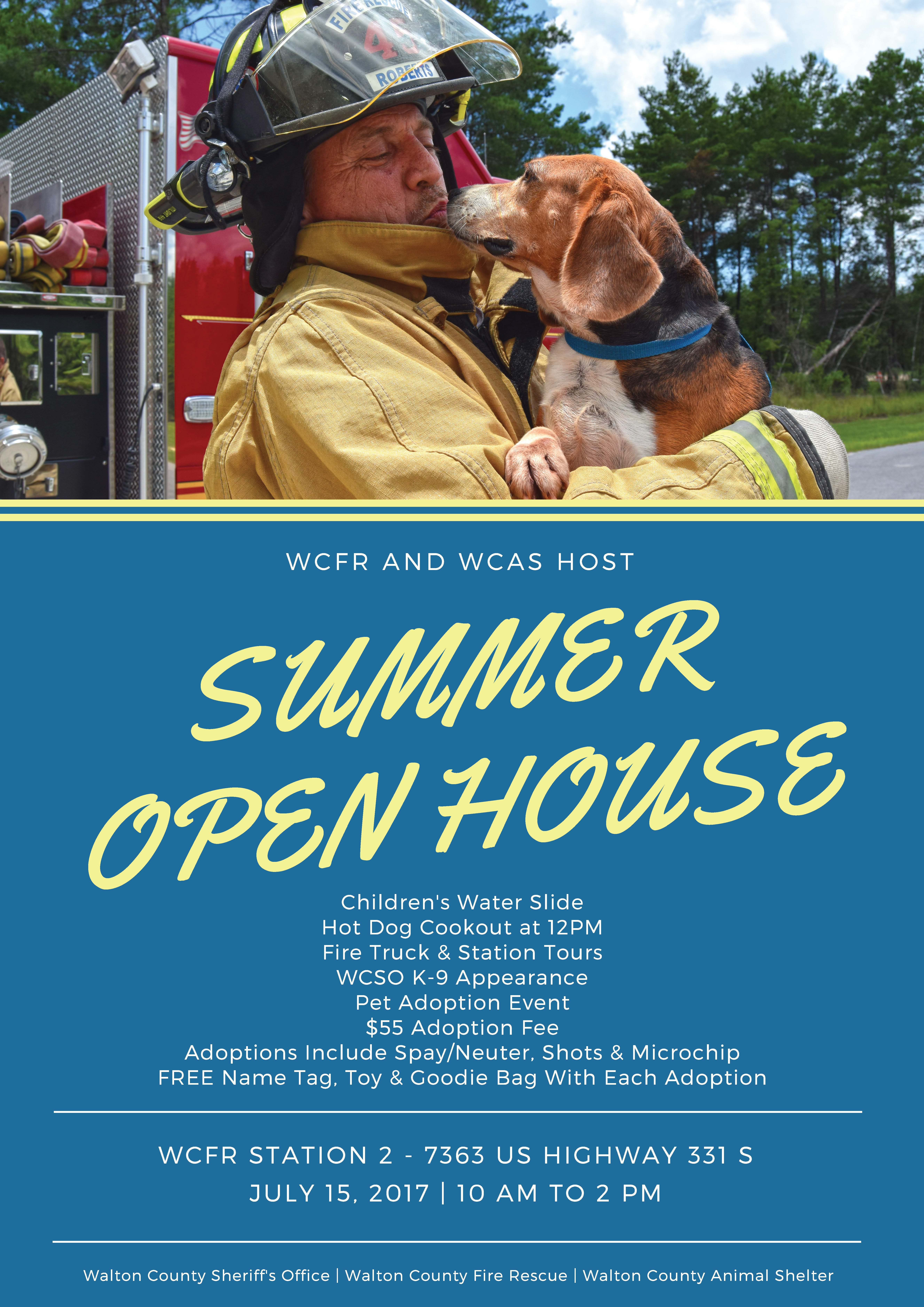 WALTON COUNTY FIRE RESCUE AND WALTON COUNTY ANIMAL SHELTER HOST