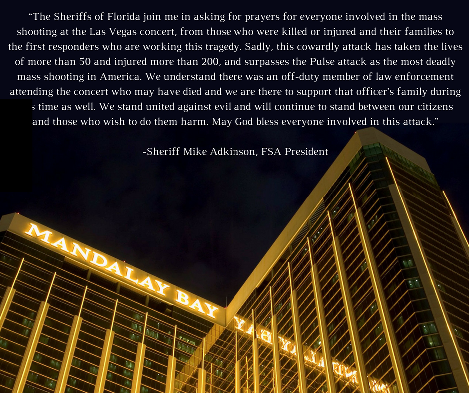 We stand united against evil and will continue to stand between our citizens and those who wish to do them harm.