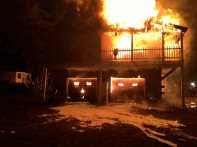 Rushing Road Structure Fire 2