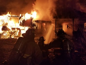 Rushing Road Structure Fire 4